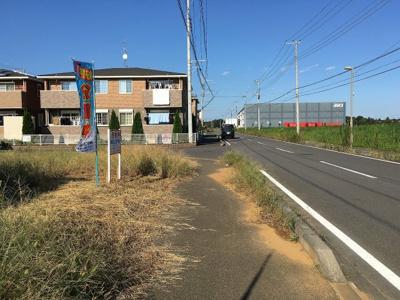 【前面道路含む現地写真】紫峰ヶ丘3丁目30番