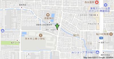 【地図】Am's court