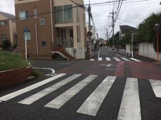 「大田区久が原1丁目 売地B区画 」 前面道路