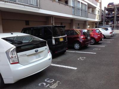 【駐車場】藤が丘パークハウスA棟
