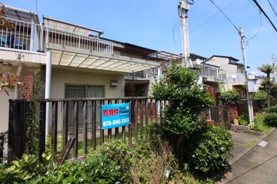 【外観】伏見区桃山町大島 中古テラスハウス