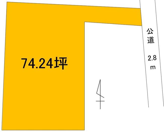 【土地図】河和田3丁目土地