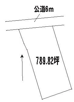【土地図】常陸大宮市若林土地