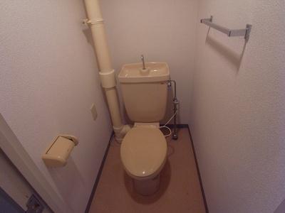 【トイレ】ビューハイツ四條畷