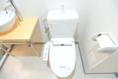 【トイレ】ラ・フォーレ松ヶ枝Ⅱ