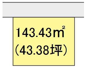 【区画図】【売地】東中学校区・29275