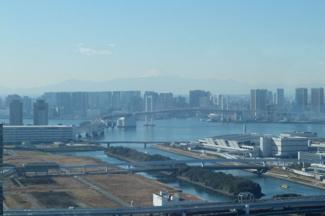 41階ソラプラザビュー:富士山・レインボーブリッジを望む