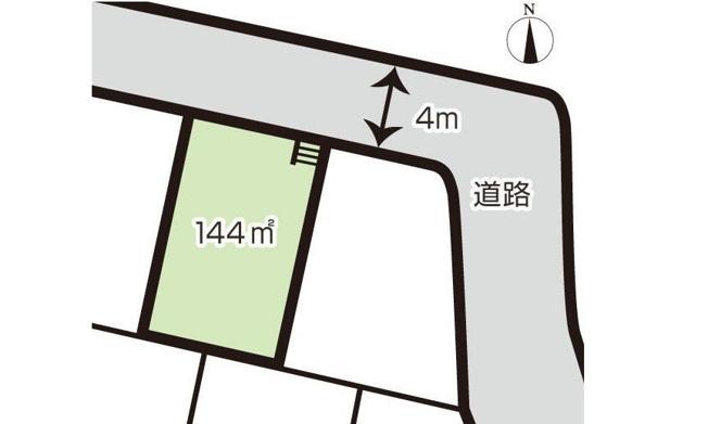 緑ヶ丘団地バス停より停歩3分!