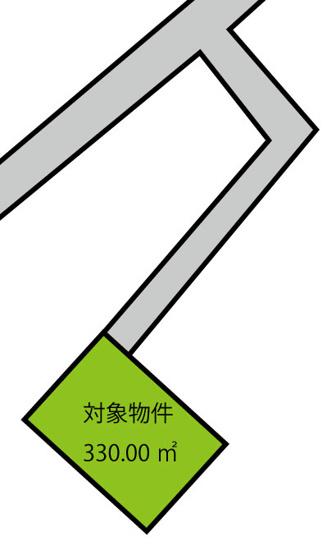土地:330㎡の広々とした敷地!子育て家族にぴったり!