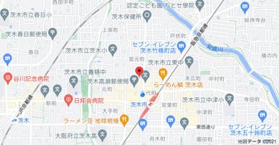 【地図】高瀬ハイツ