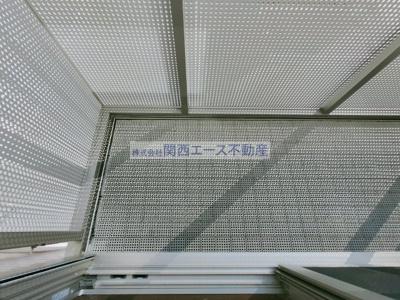 【バルコニー】KinzyCourtⅠ