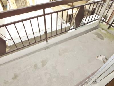 【バルコニー】軽里2丁目貸家