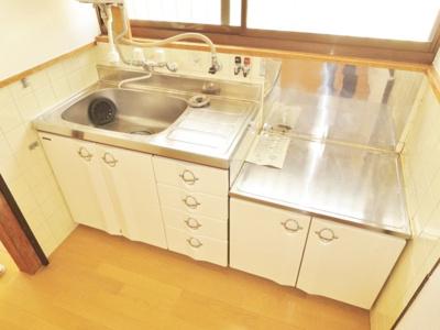 【キッチン】軽里2丁目貸家