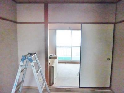 【居間・リビング】鉄本グリーンハイツ