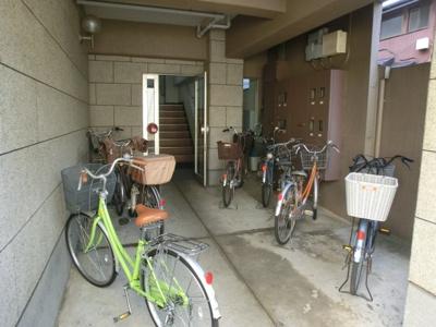 自転車置き場☆