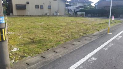 【外観】売土地-江南市山尻町川端