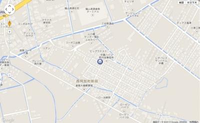 【地図】パピヨン