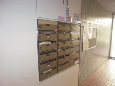 メールボックス完備