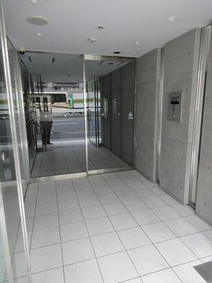 【エントランス】パークウェル三ノ輪駅前
