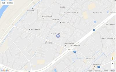 【地図】イターナル壱番館
