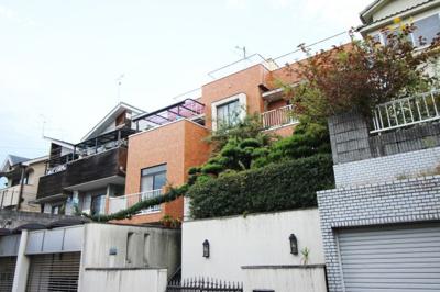 【外観】宇治市木幡南山 事務所付住宅