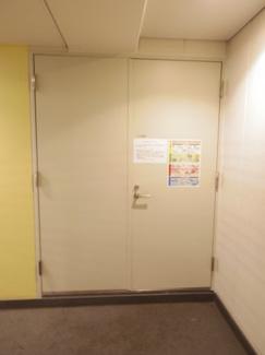 各階に24時間ゴミ捨て可能なダストスペースがございます。