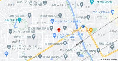 【地図】T'Sコート (株)Roots