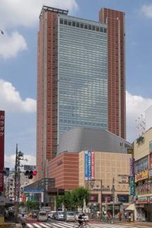 三軒茶屋リリエンハイム(世田谷区) キャロットタワー