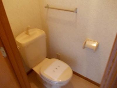 【トイレ】ソレイユB棟