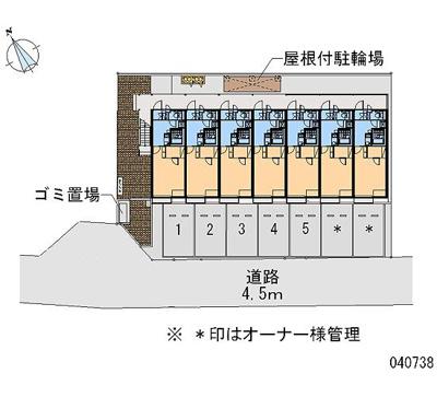 【地図】レオネクストサンシティーⅢ