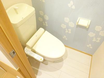 【トイレ】クレール松ノ木