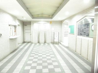 【エントランス】朝日プラザ五橋Ⅲ
