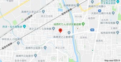 【地図】ドミール津之江 (株)Roots
