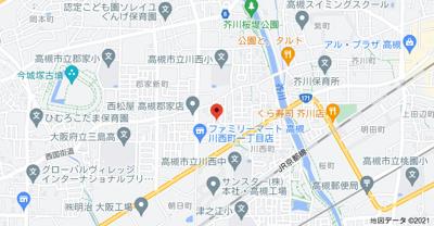 【地図】T'Sコート