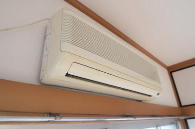 エアコン付きで初期費用を抑えられます。