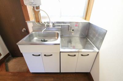 収納付きキッチンです。