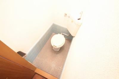バストイレ別のトイレです。