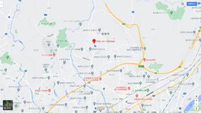 【地図】タカツキシアマナカノマチカシヤ (株)Roots