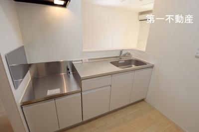【キッチン】ブリアール白池 1