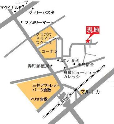 【地図】ガーデンハウス