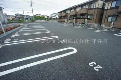 【駐車場】アムールゆめみ野C