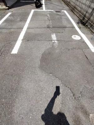 【駐車場】ファーストハイツ