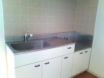 作業スペースも広くお料理しやすいキッチン!