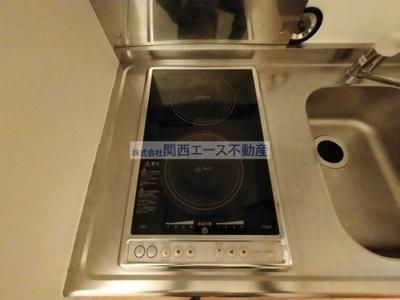 【キッチン】レオパレス瓢箪山