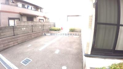 【駐車場】レオパレス瓢箪山
