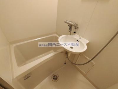 【浴室】レオパレス瓢箪山