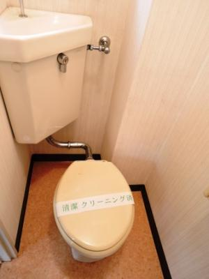【トイレ】ヴェルデ散田