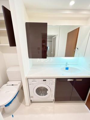 【洗面所】コンフォリア九段