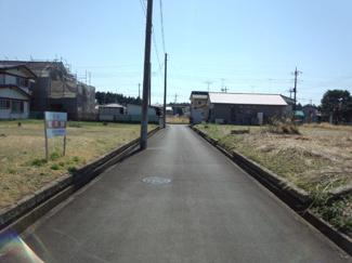 前面道路2