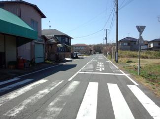 団地内メイン道路1